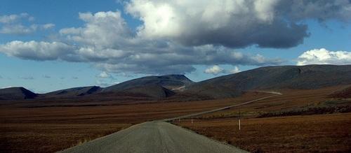 Dempster Highway in Kanada flickr (c) Tania Liu